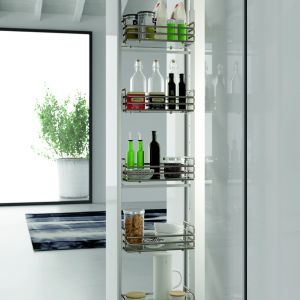 PULL-OUT LARDER - DEDICATED BASKETS:1204E - 1135-1495mm