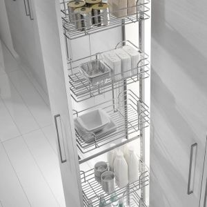 PULL-OUT LARDER - FRAME DEDICATED FOR WIRE BASKETS 1816 - 1490-1840mm
